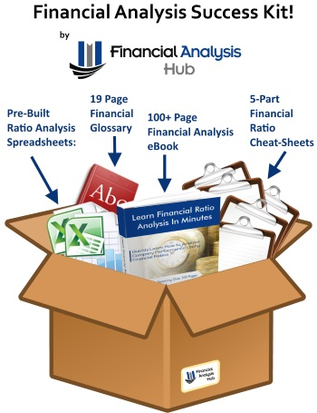 financial ratio analysis success kit